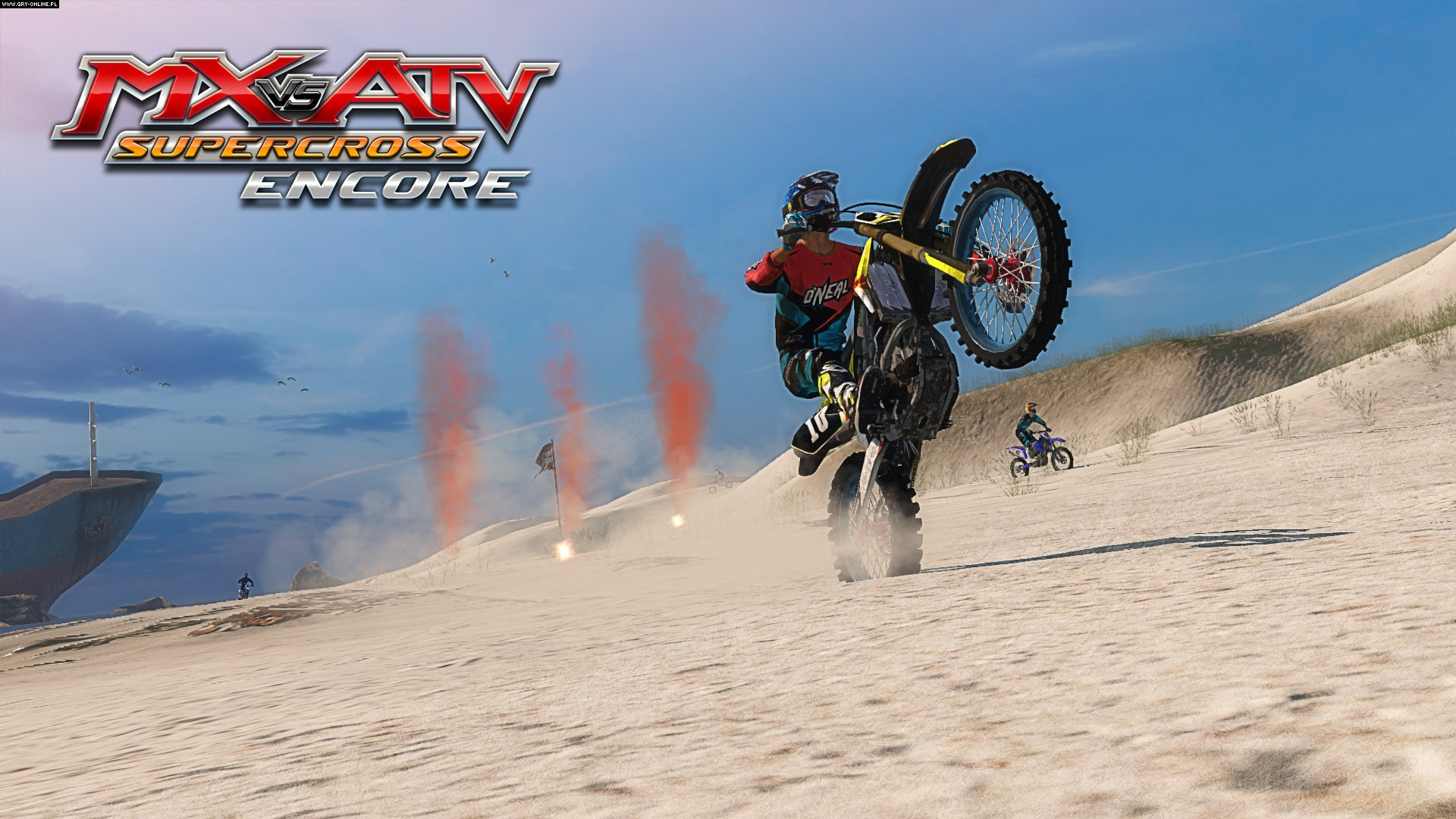 mx vs atv supercross encore screenshots gallery. Black Bedroom Furniture Sets. Home Design Ideas
