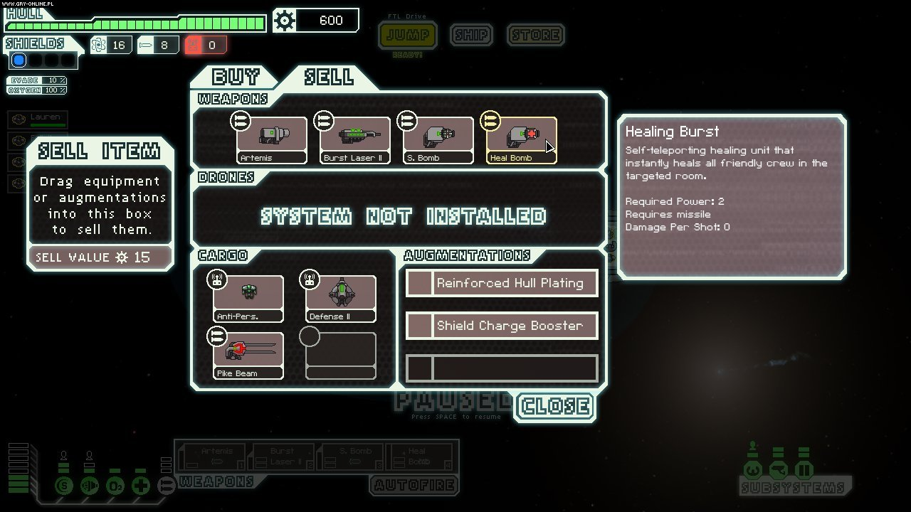 FTL: Faster Than Light PC Gry Screen 9/14, FTL Team, Subset Games