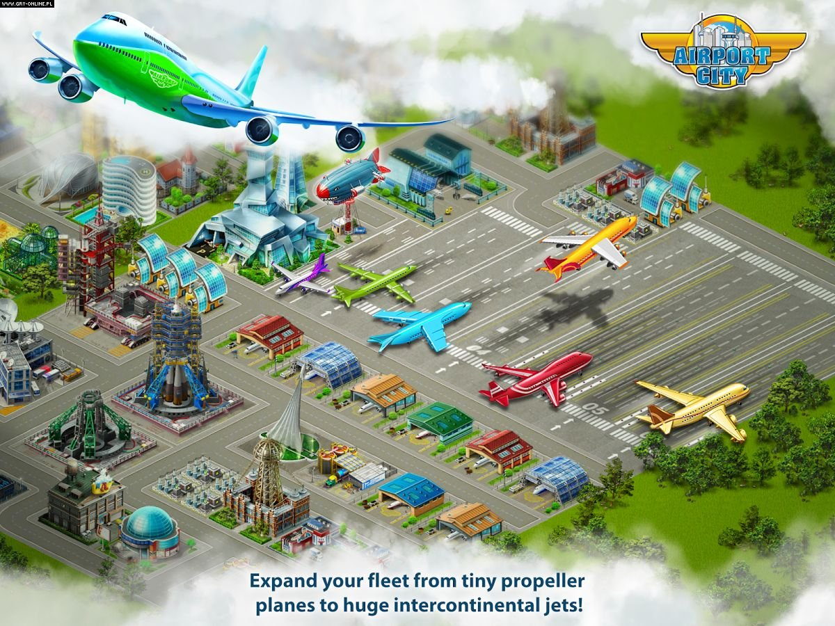 Airport City iOS, AND, WP, WWW, PC Games Image 4/5, Road 404, Game Insight