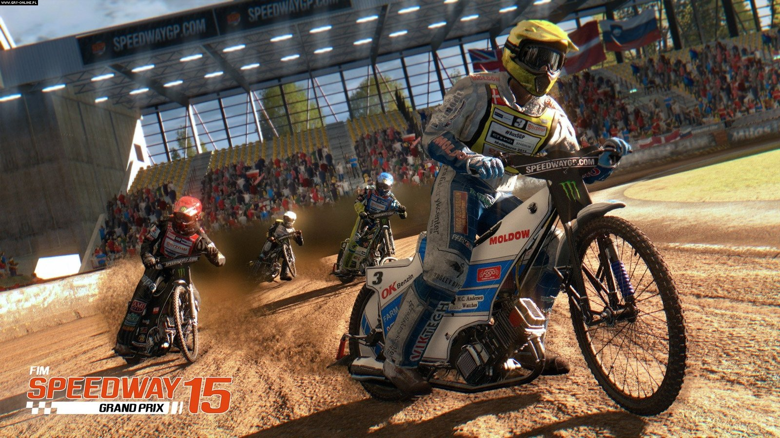 FIM Speedway Grand Prix 15 PC Gry Screen 3/10, Techland, Excalibur Publishing Limited