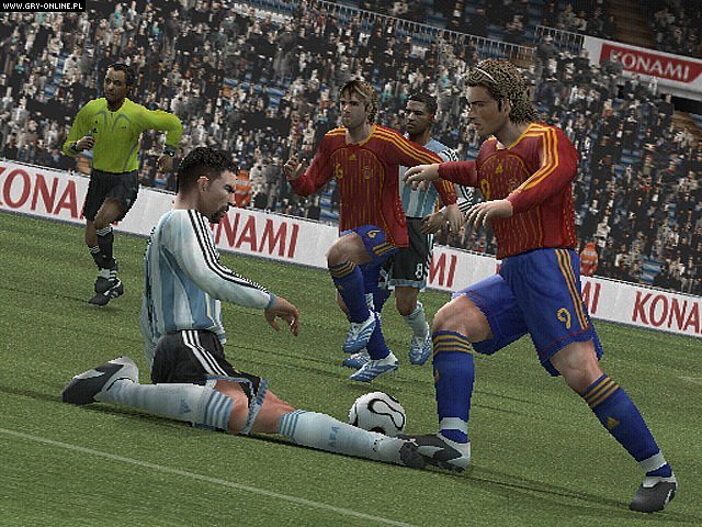 Screenshots gallery - Winning Eleven: Pro Evolution Soccer 2007, screenshot 38 / 54