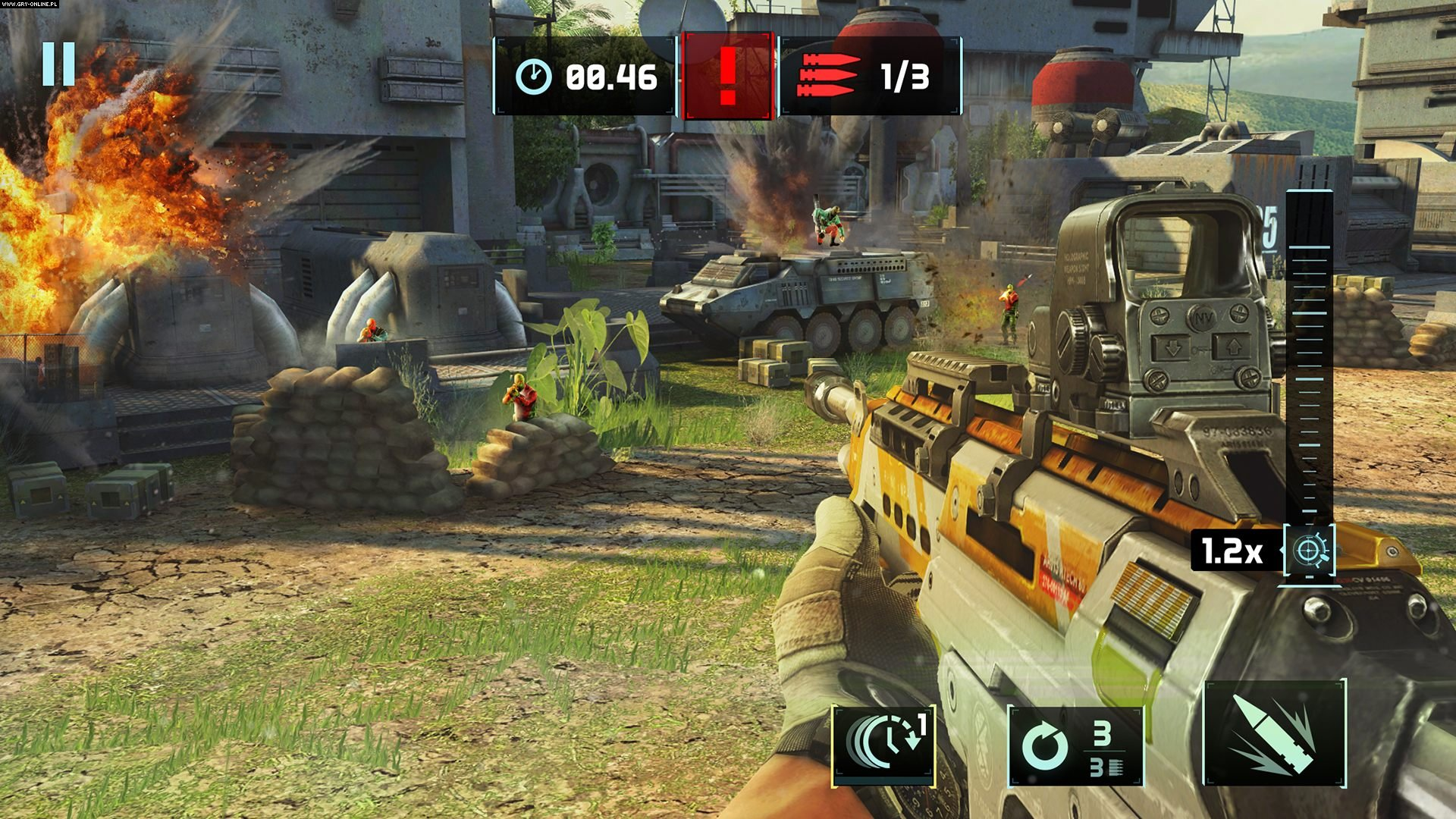 Sniper Fury iOS, AND, WP, PC Gry Screen 4/5, Gameloft