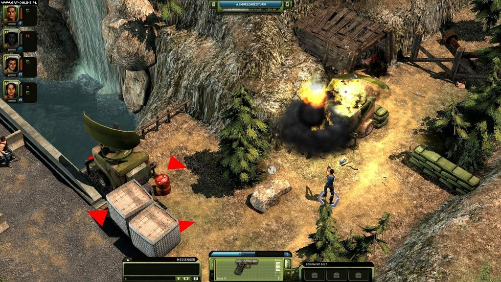 Jagged Alliance Online WWW Gry Screen 3/21, Cliffhanger Productions, bitComposer Games