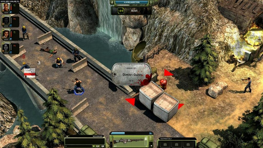 Jagged Alliance Online WWW Gry Screen 1/21, Cliffhanger Productions, bitComposer Games