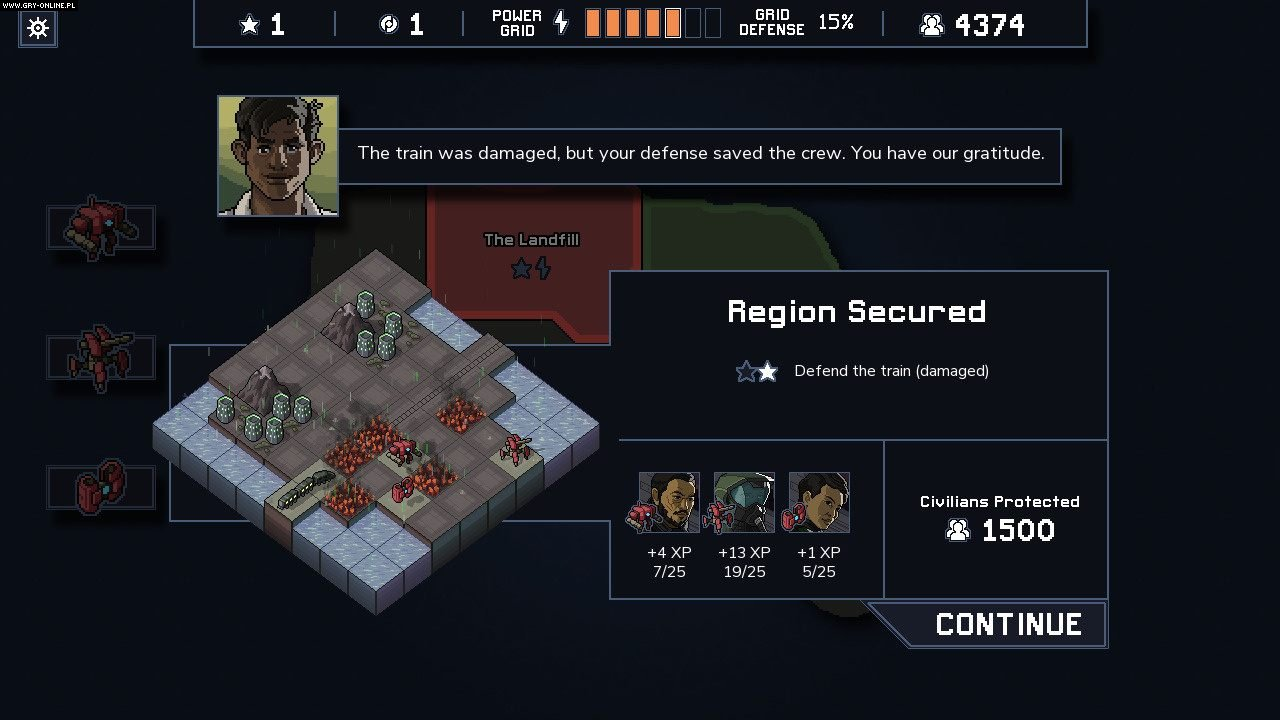 Into the Breach PC Gry Screen 2/11, Subset Games