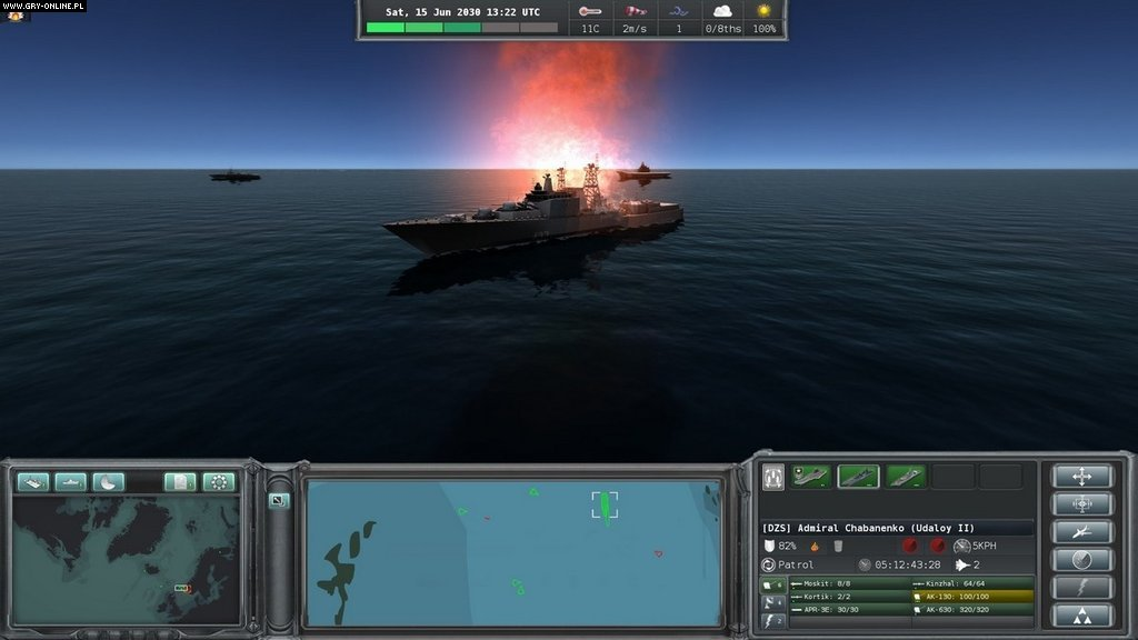 Игру Naval War Arctic Circle