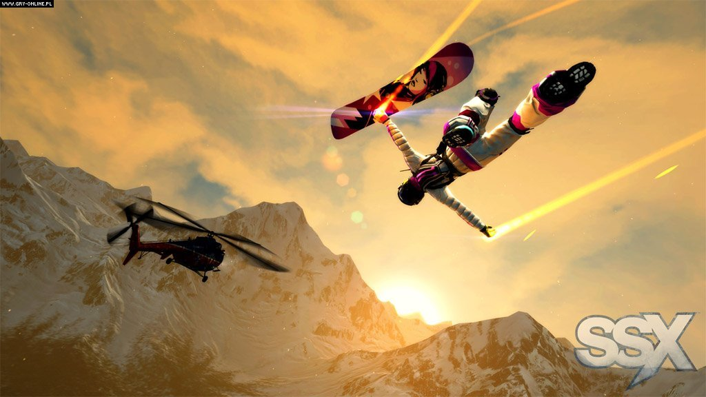 SSX X360, PS3 Gry Screen 12/54, EA Sports, Electronic Arts Inc.