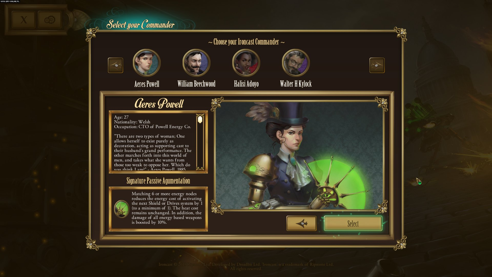 Ps4 Games Science Fiction : Ironcast screenshots gallery screenshot