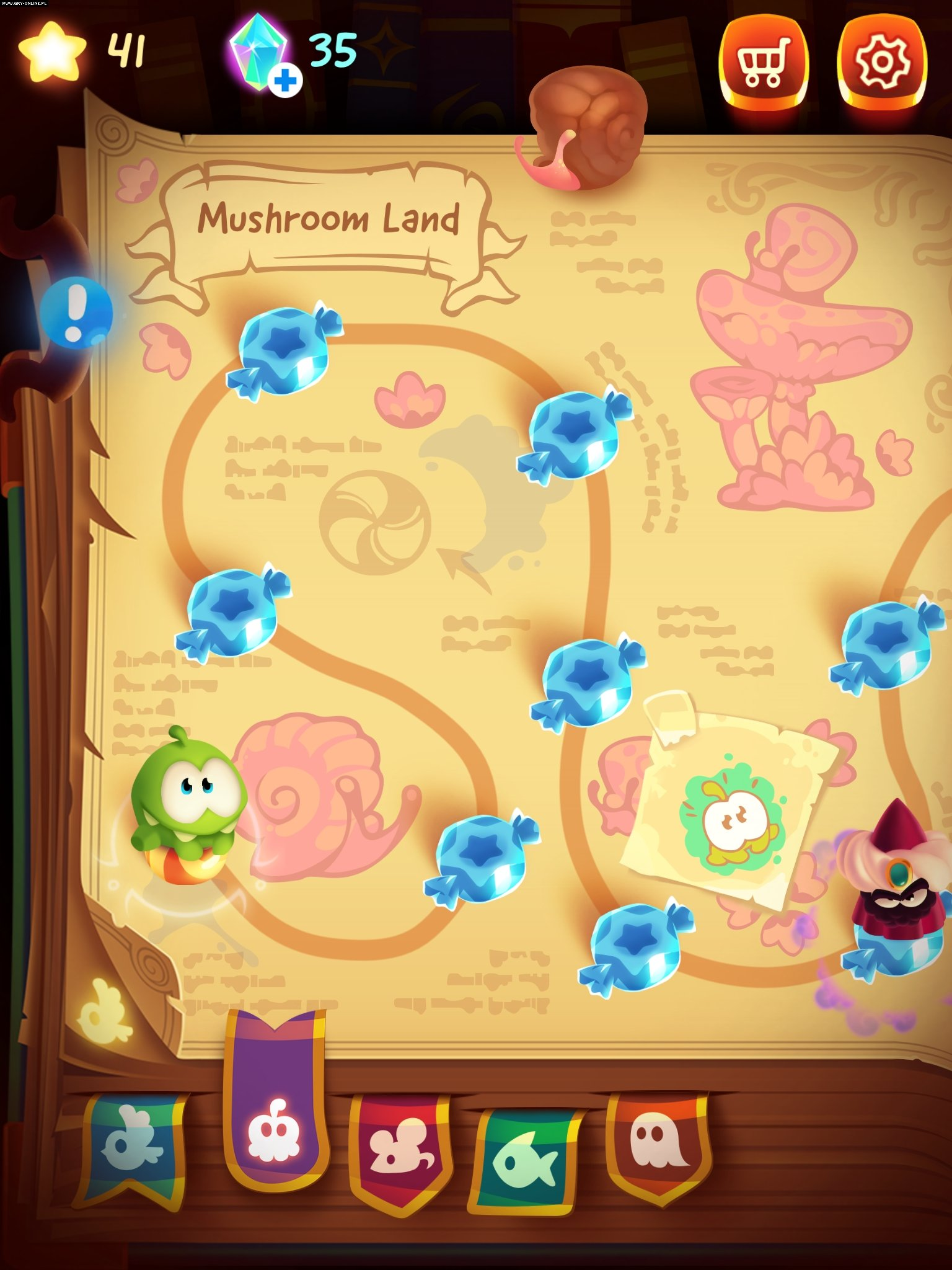 Cut the Rope: Magic iOS Gry Screen 6/13, ZeptoLab