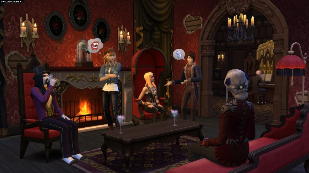 The Sims 4: Vampires PC Games Image 3/3, EA Maxis / Maxis Software, Electronic Arts Inc.