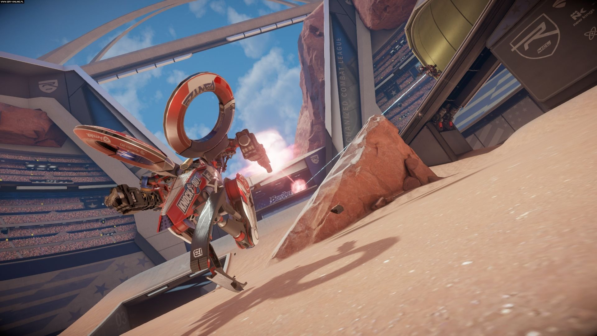 Rigs: Mechanized Combat League PS4 Games Image 2/16, Guerrilla Games, Sony Interactive Entertainment
