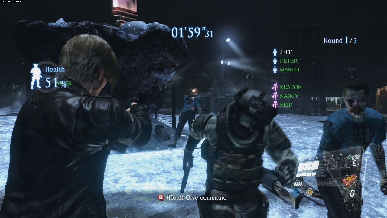 Resident Evil 6 PC, X360, PS3 Gry Screen 25/237, QLOC, Capcom