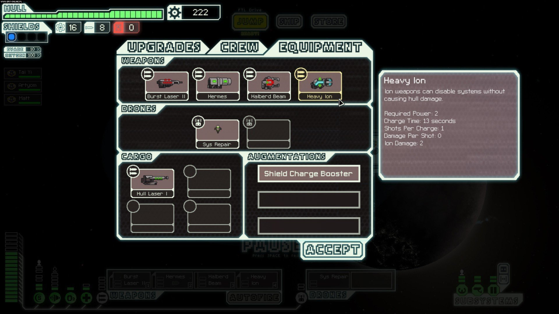 FTL: Faster Than Light PC Gry Screen 5/14, FTL Team, Subset Games