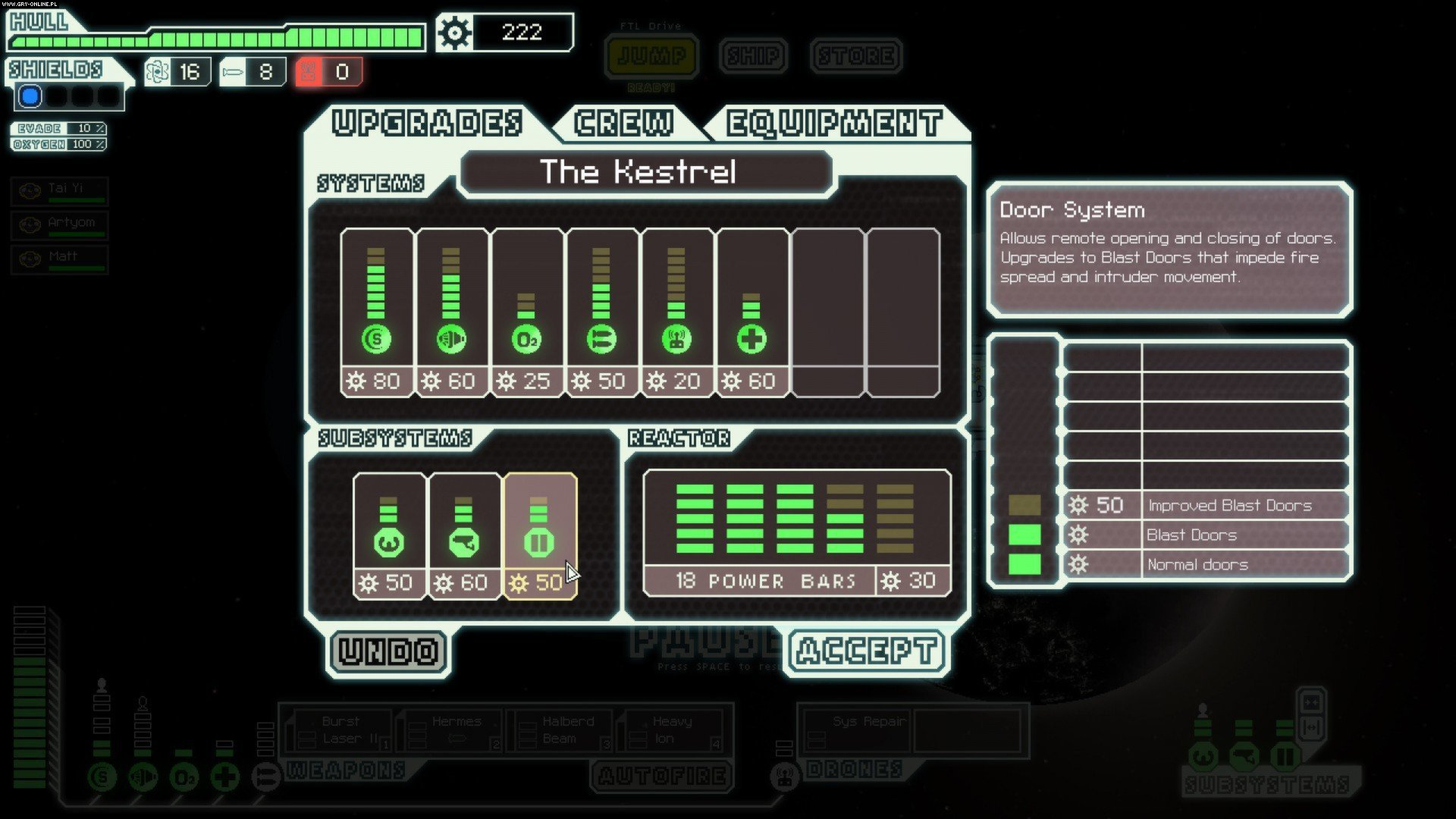 FTL: Faster Than Light PC Gry Screen 1/14, FTL Team, Subset Games