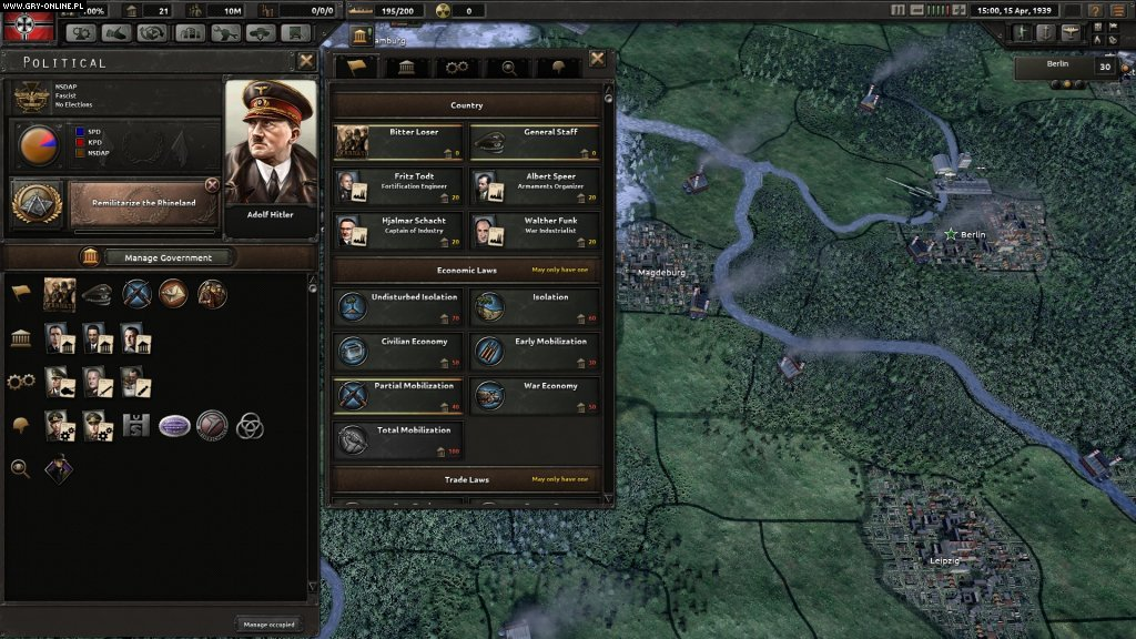Hearts of Iron IV PC Games Image 20/32, Paradox Development Studio, Paradox Interactive