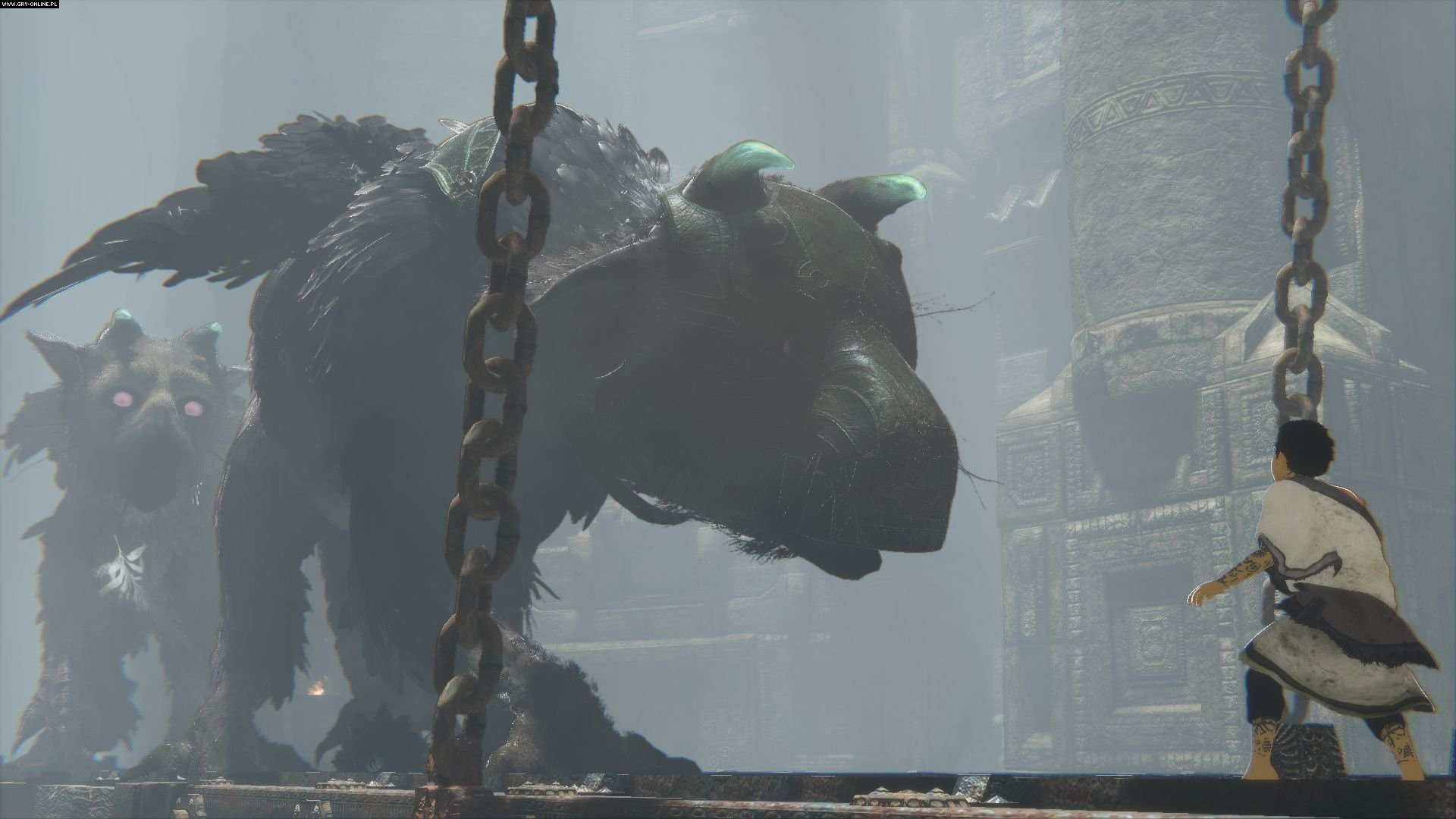 The Last Guardian Playstation 4 gameplay