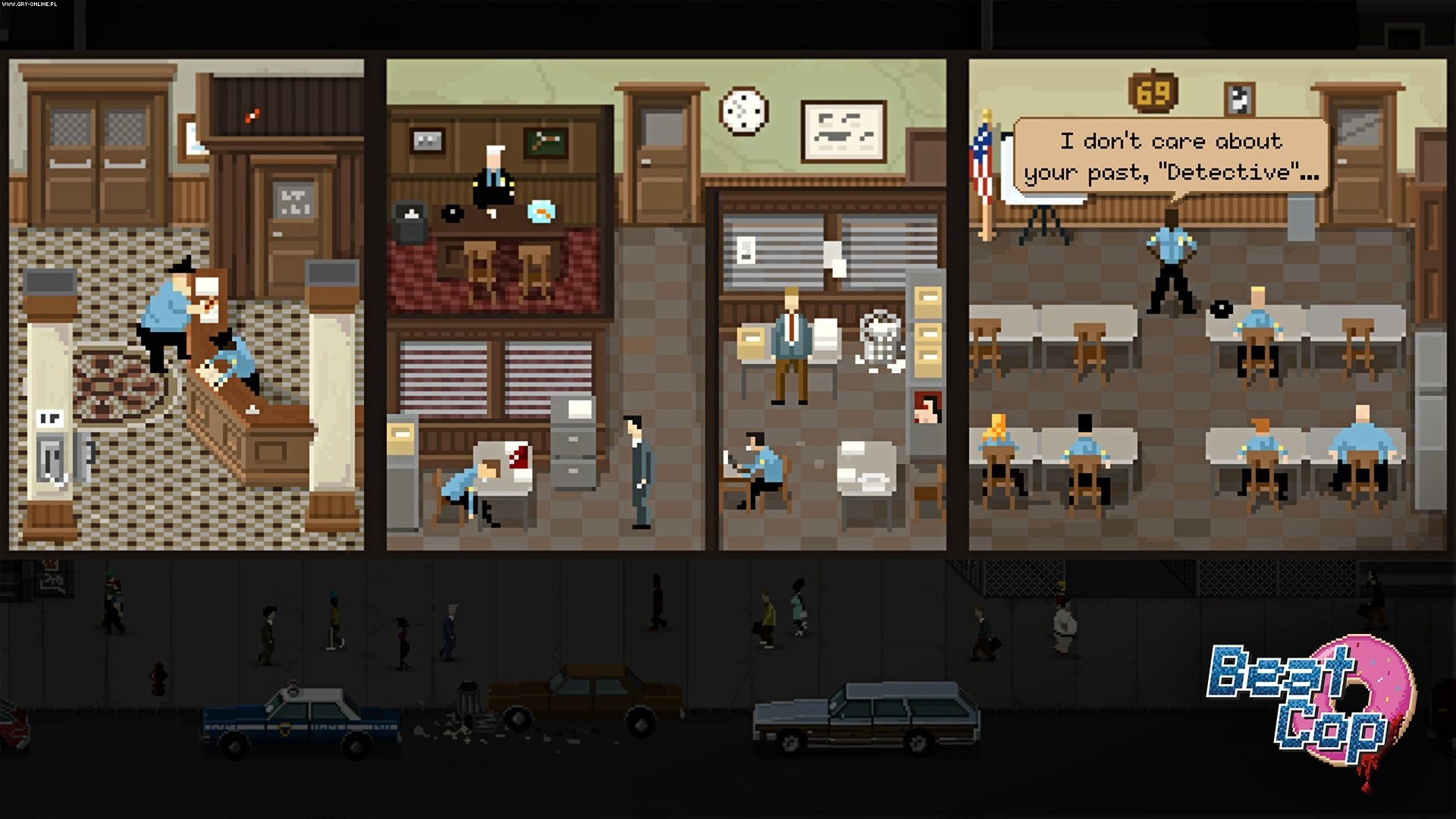 Beat Cop PC Games Image 8/16, Pixel Crow, 11 bit studios