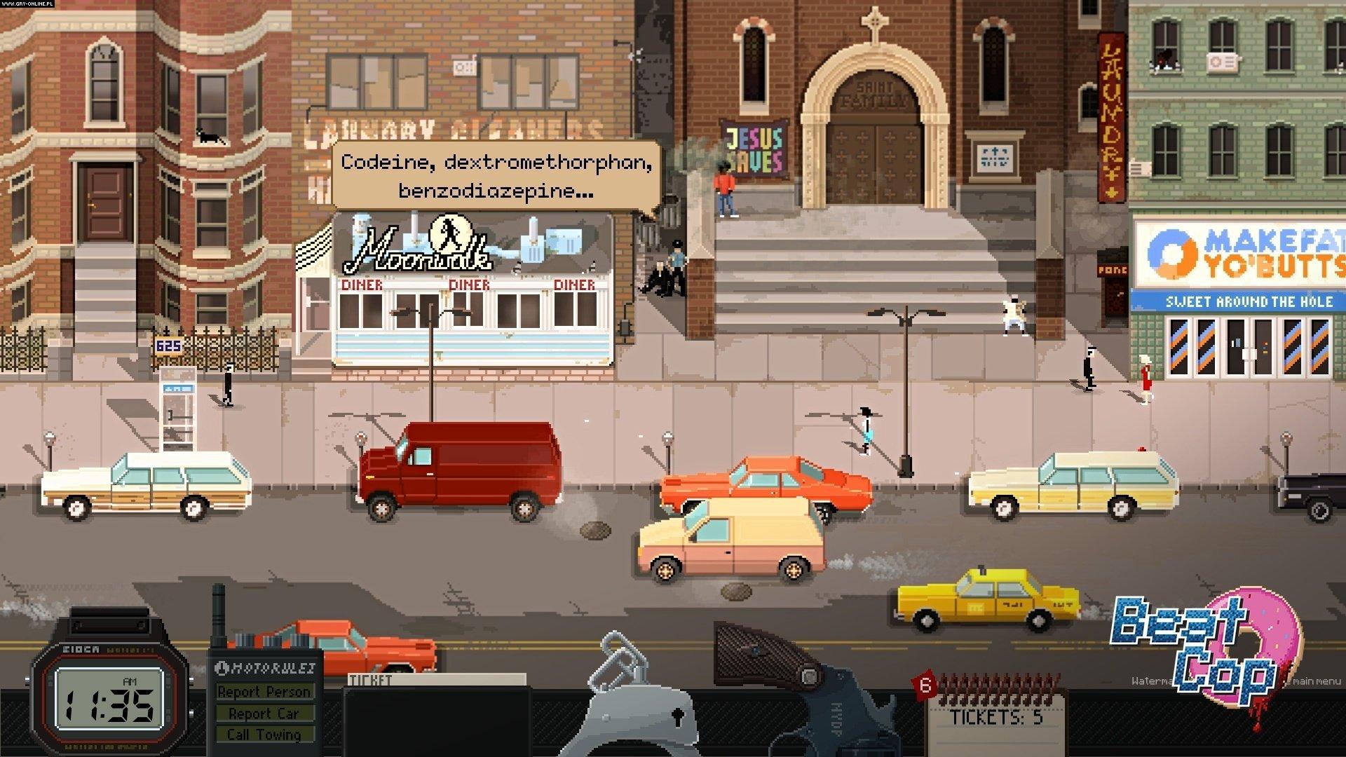 Beat Cop PC Games Image 6/16, Pixel Crow, 11 bit studios