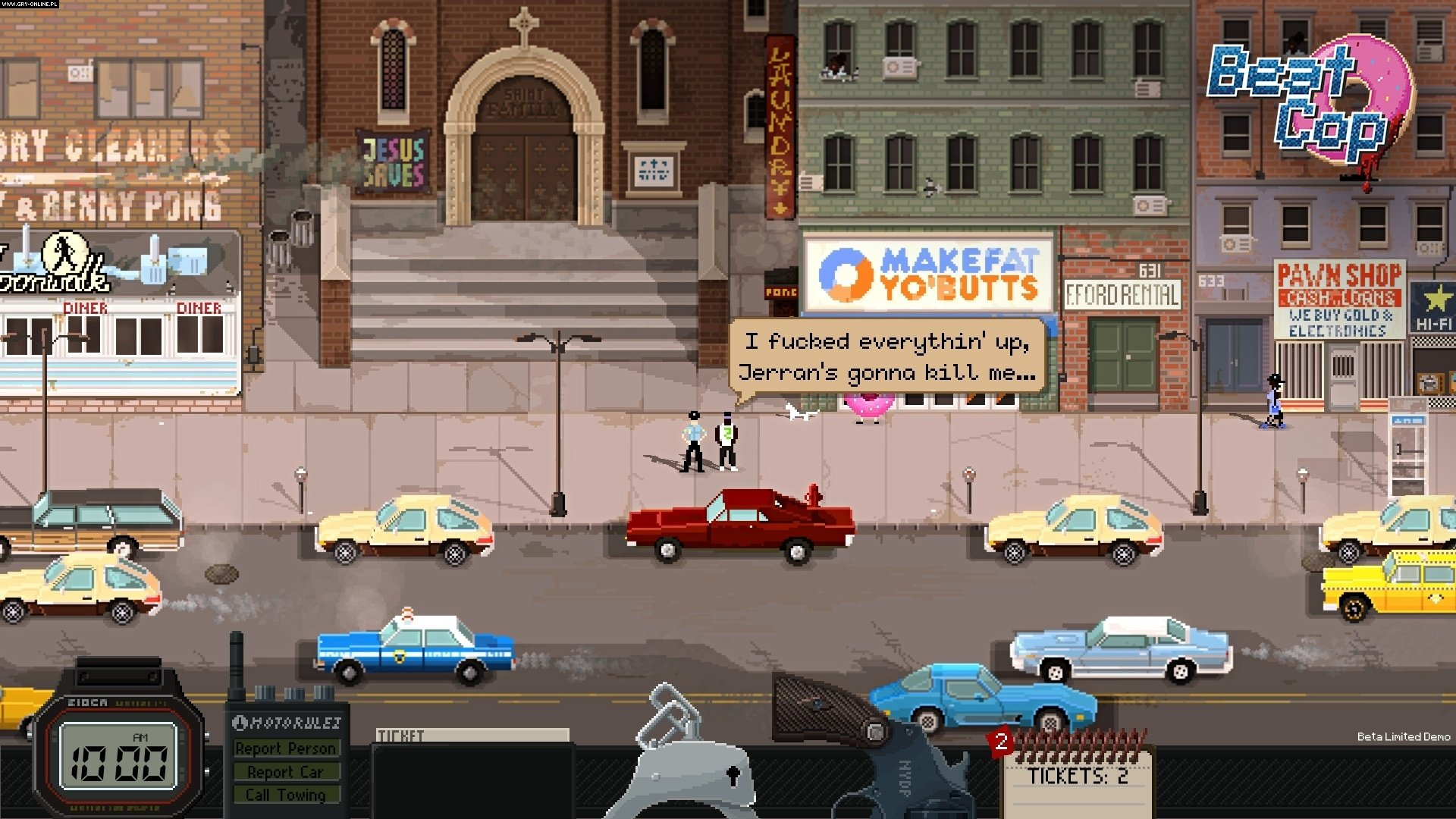 Beat Cop PC Games Image 5/16, Pixel Crow, 11 bit studios
