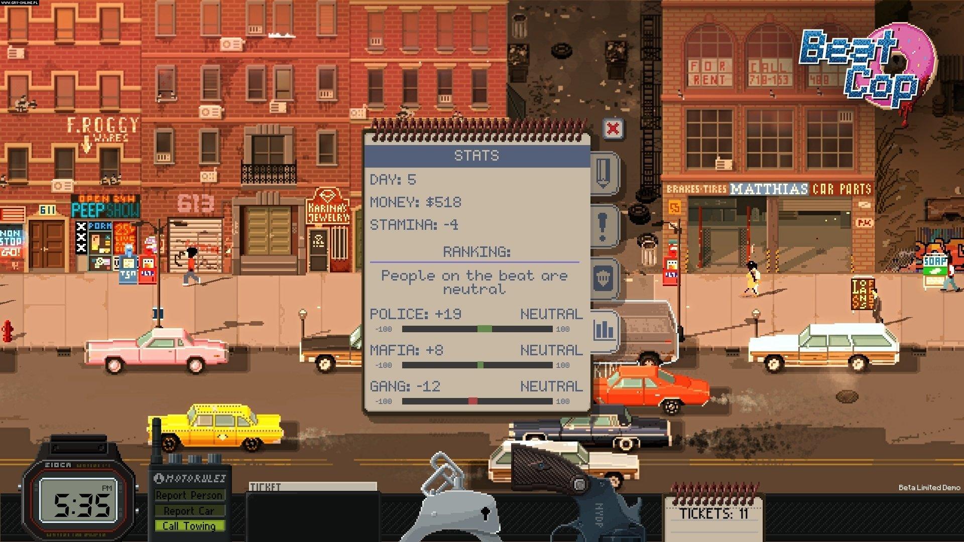 Beat Cop PC Games Image 4/16, Pixel Crow, 11 bit studios