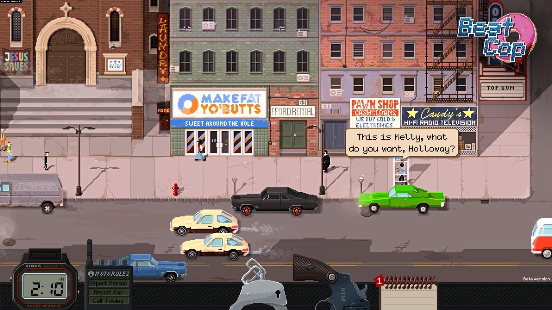 Beat Cop PC Games Image 3/16, Pixel Crow, 11 bit studios