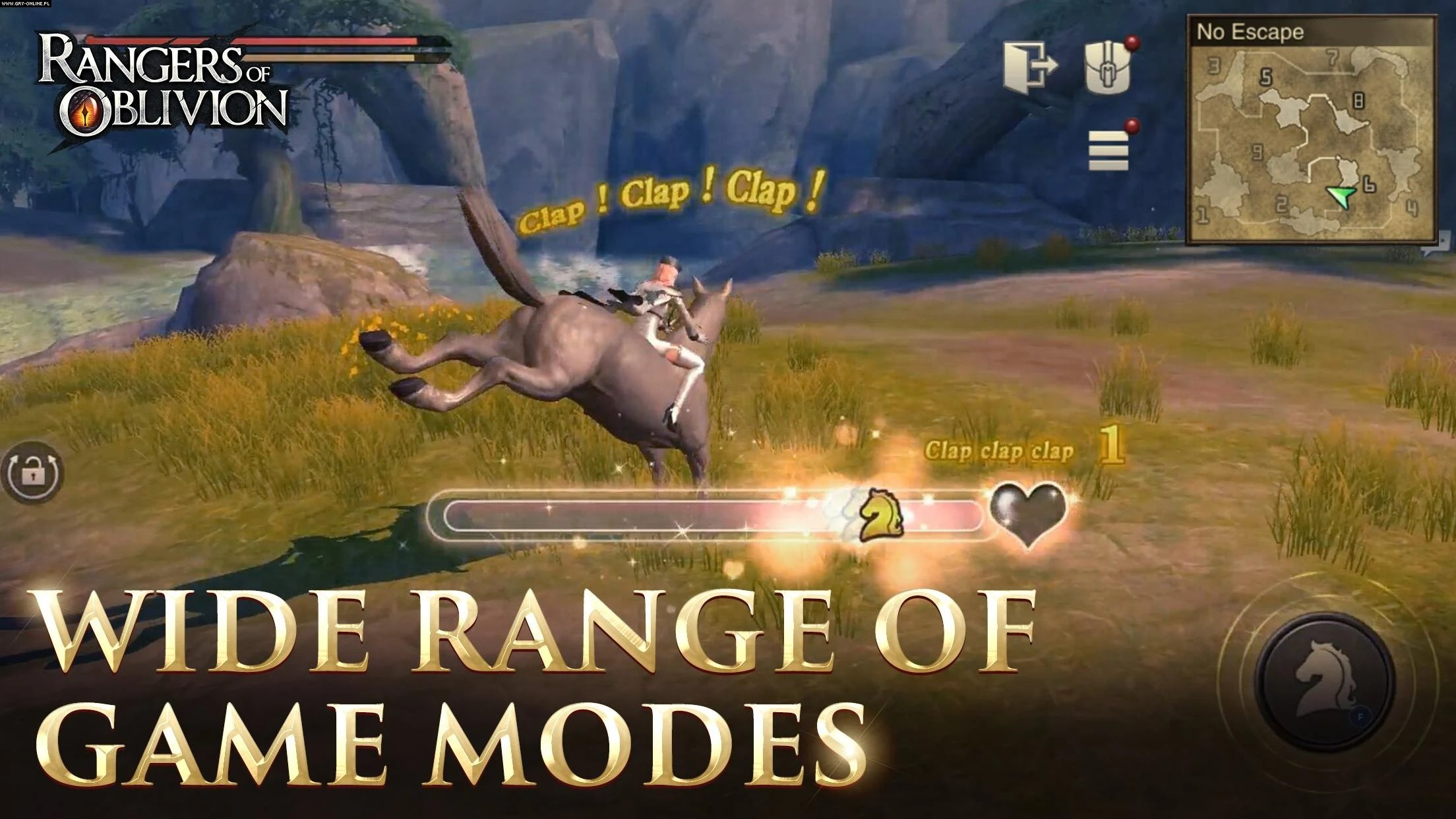 Rangers of Oblivion AND, iOS Gry Screen 2/5, GTArcade