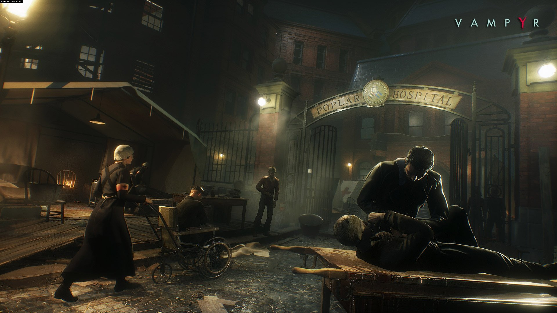 Vampyr PC, PS4, XONE, Switch Gry Screen 8/17, DONTNOD Entertainment, Focus Home Interactive