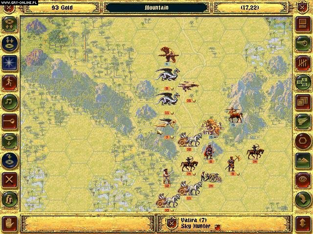 Fantasy General PC Games Image 6/11, Strategic Simulations Inc., Mindscape