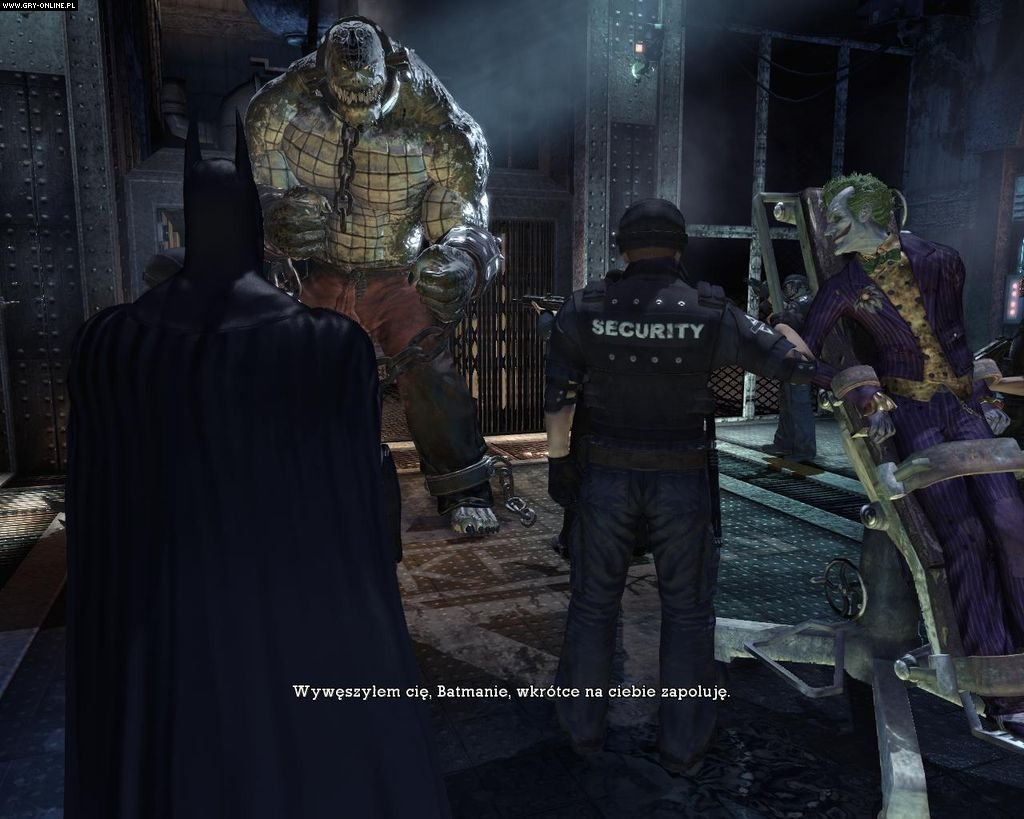 Batman: Arkham Asylum PC Gry Screen 72/183, Rocksteady Studios, Square-Enix / Eidos