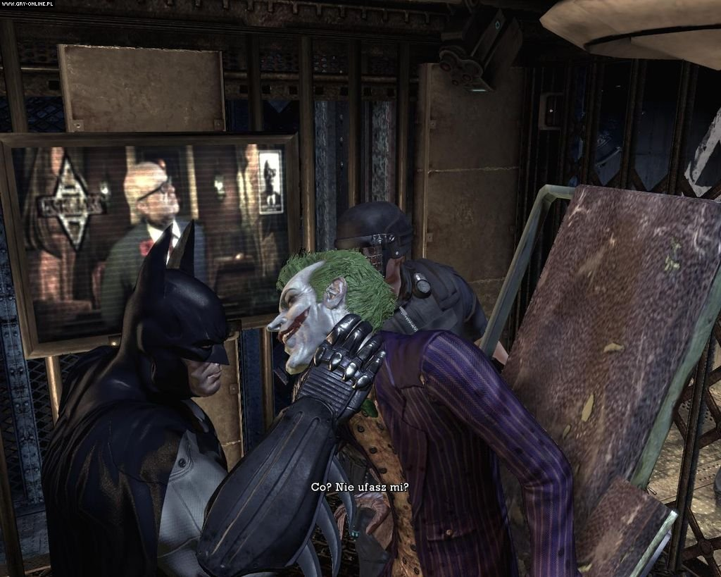 Batman: Arkham Asylum PC Gry Screen 70/183, Rocksteady Studios, Square-Enix / Eidos