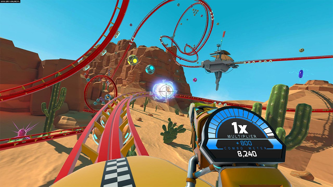RollerCoaster Tycoon Joyride PS4 Gry Screen 6/6, Nvizzio Creations Inc., Atari / Infogrames