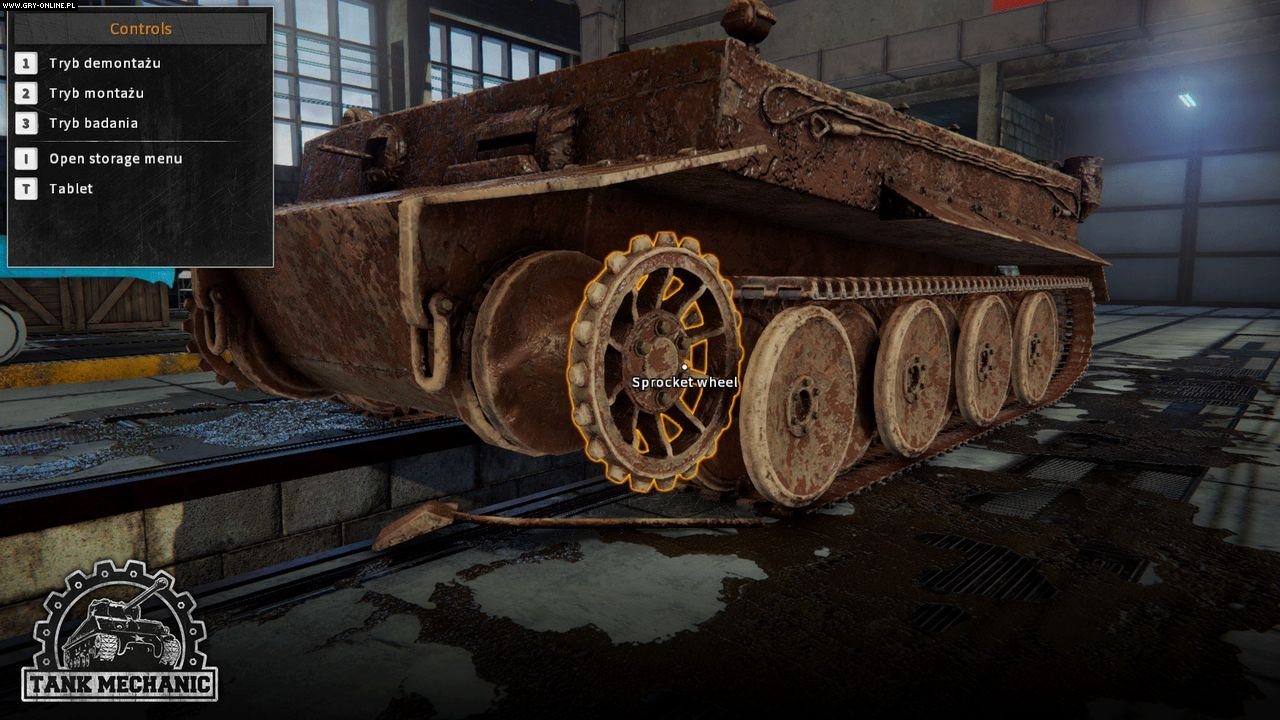 Tank Mechanic Simulator PC Gry Screen 2/13, DeGenerals, PlayWay
