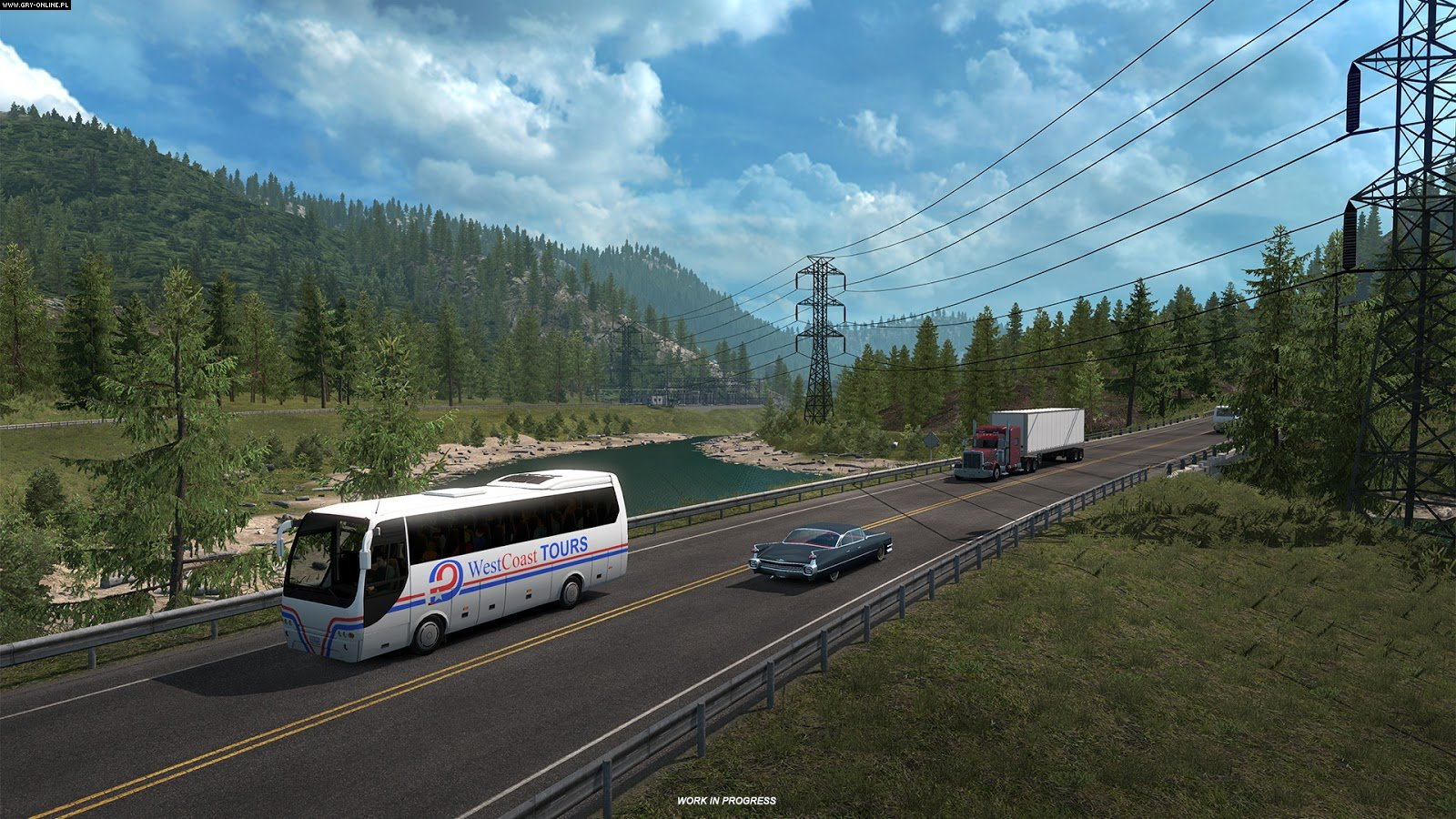 American Truck Simulator: Washington PC Games Image 2/8, SCS Software