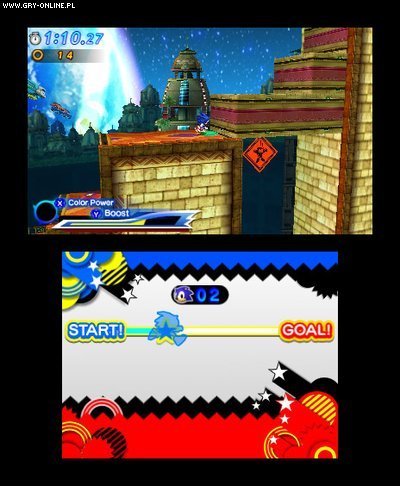 Sonic Generations 3DS Gry Screen 54/157, Sonic Team, SEGA