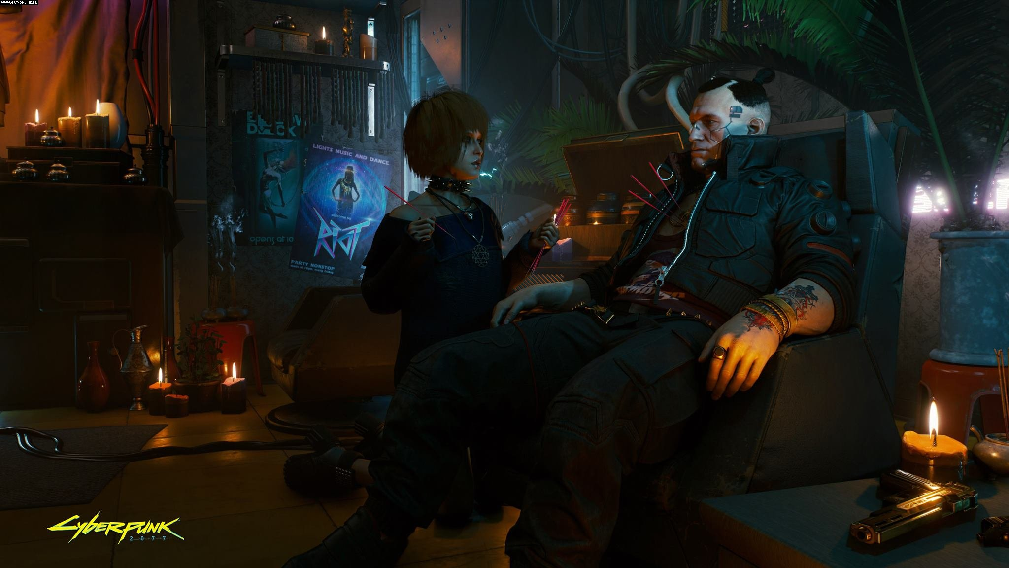 Cyberpunk 2077 PC, PS4, XONE Gry Screen 1/38, CD Projekt RED
