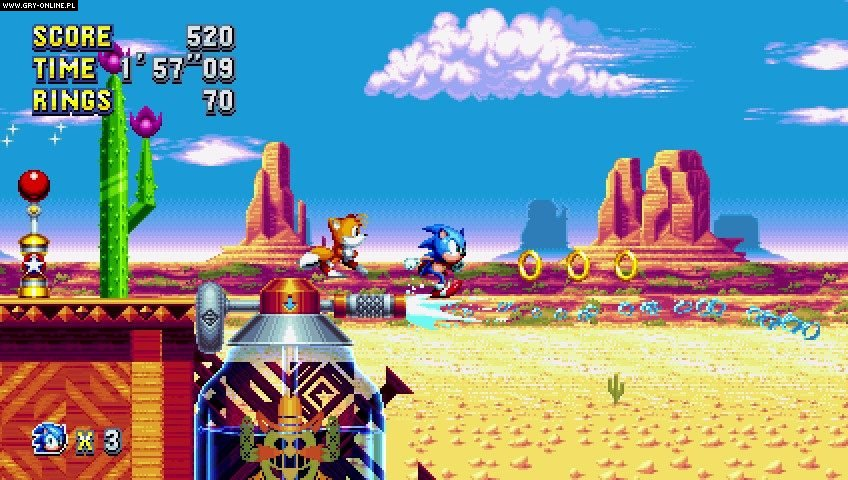 Sonic Mania PC, PS4, XONE, Switch Gry Screen 6/41, PagodaWest Games, SEGA