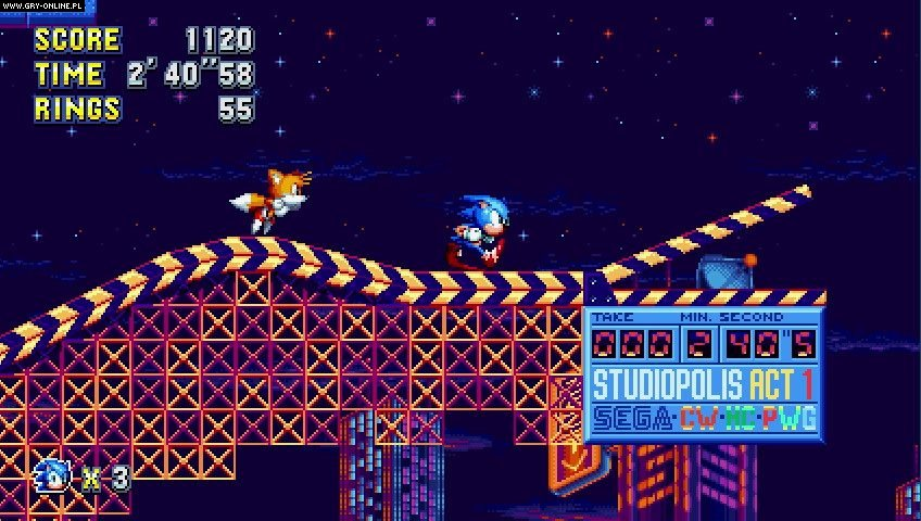 Sonic Mania PC, PS4, XONE, Switch Gry Screen 4/41, PagodaWest Games, SEGA