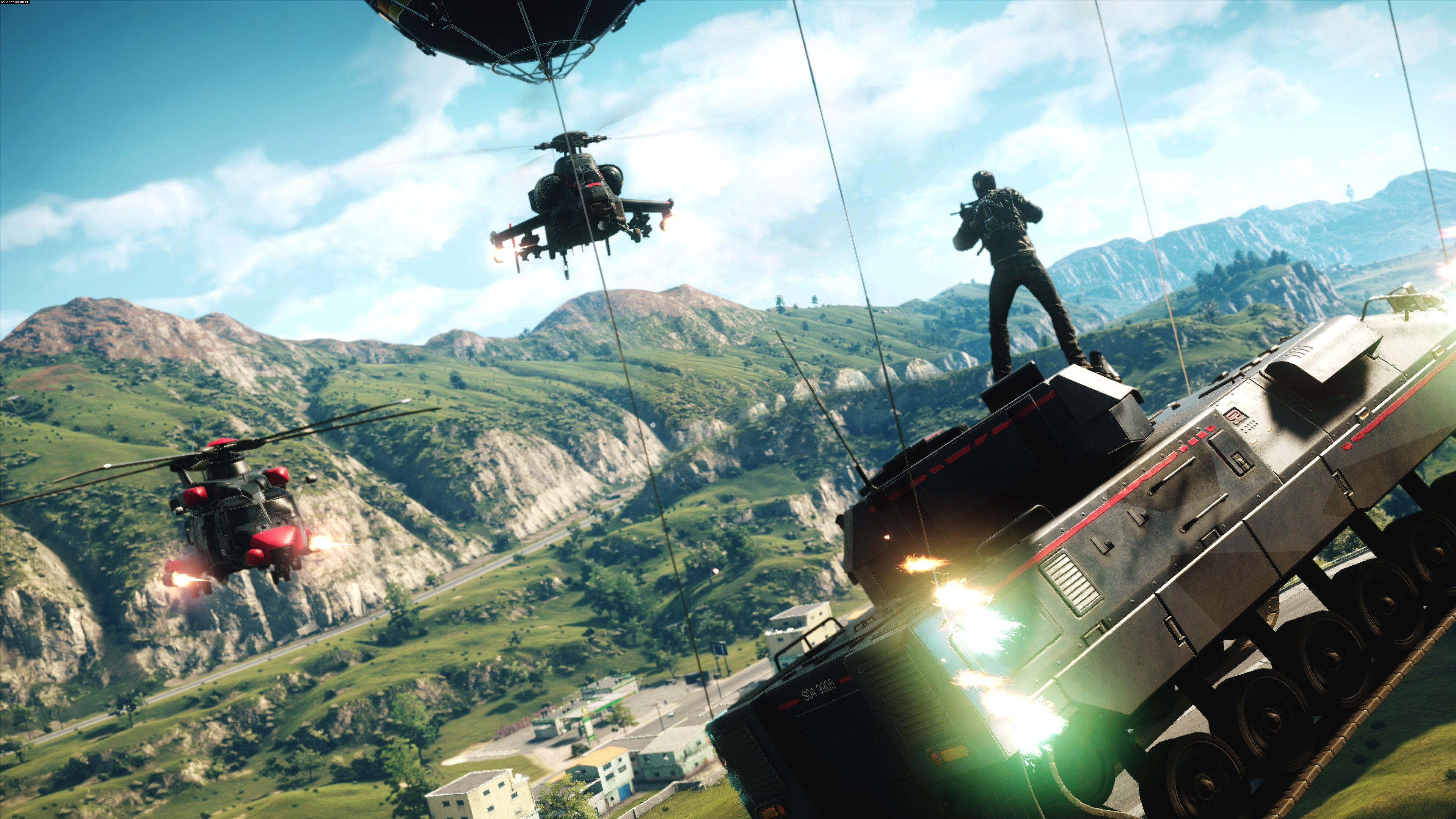 Just Cause 4 PC, PS4, XONE Gry Screen 3/30, Avalanche Studios, Square-Enix / Eidos