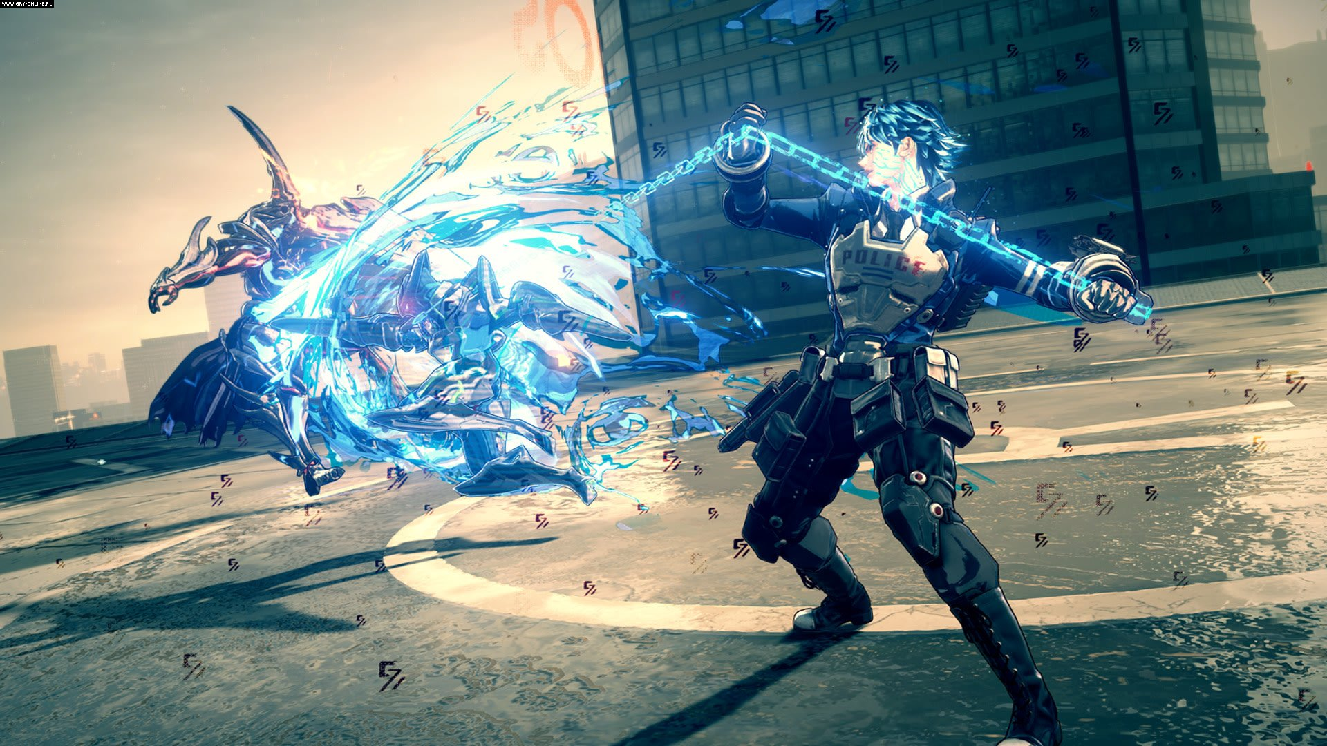 Astral Chain Switch Gry Screen 29/33, PlatinumGames, Nintendo