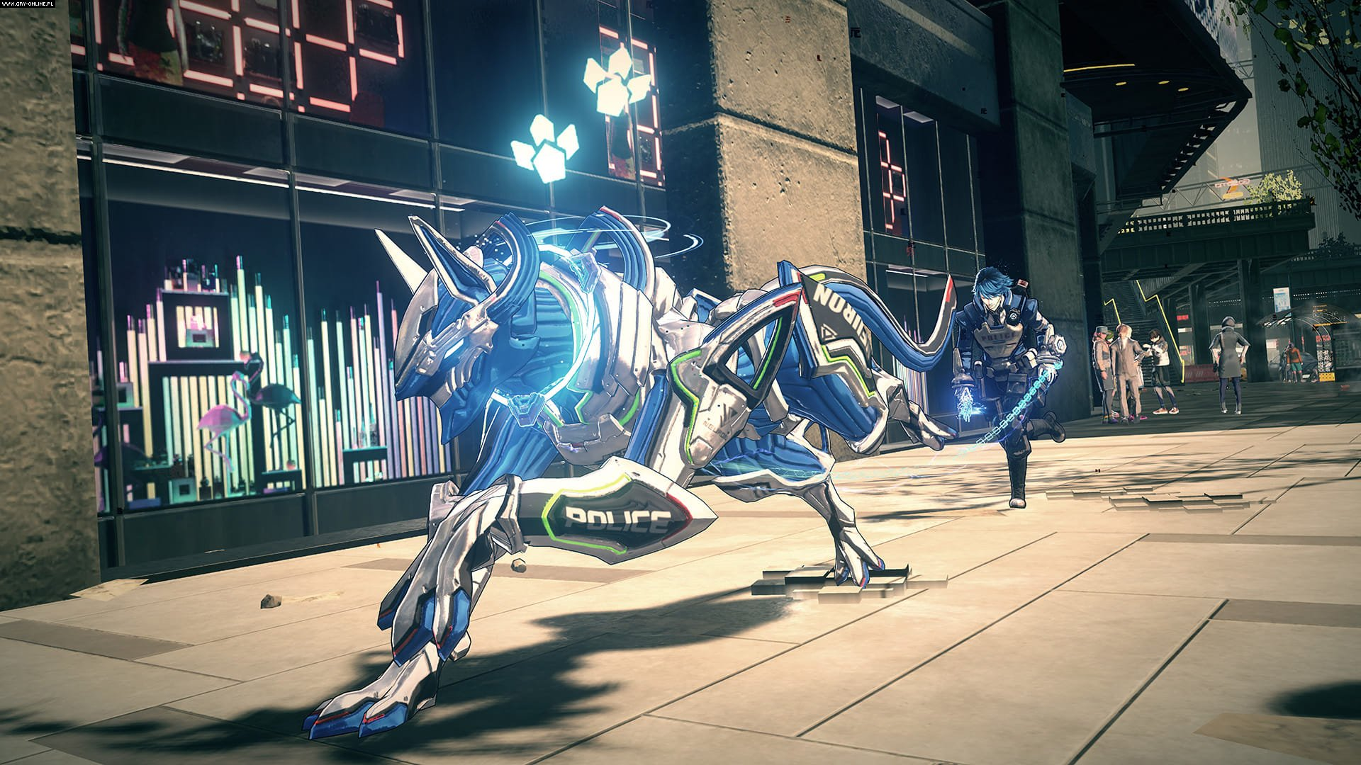 Astral Chain Switch Gry Screen 3/33, PlatinumGames, Nintendo