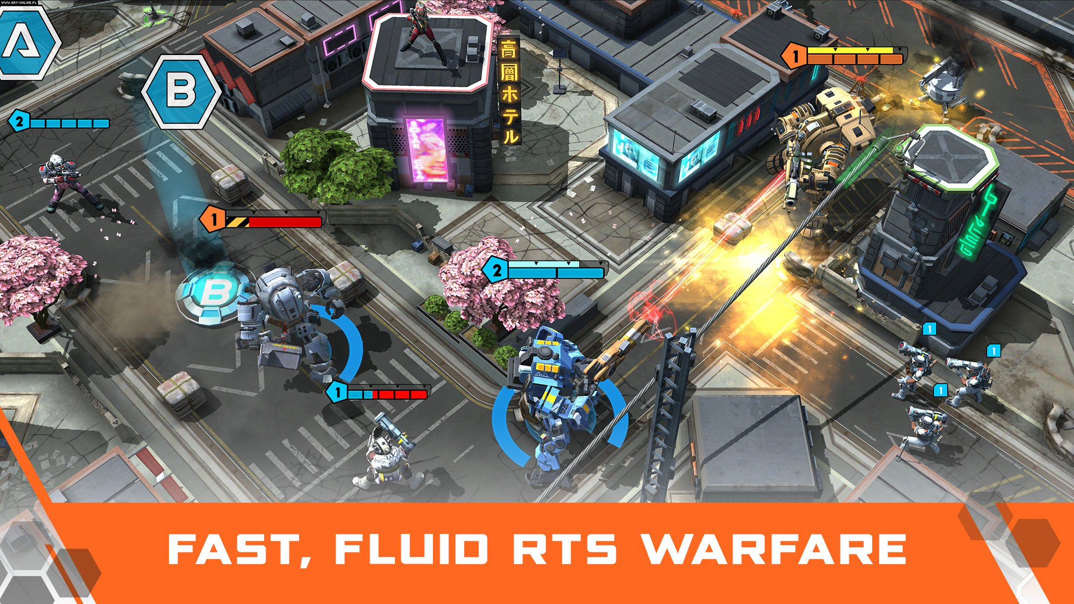 Titanfall: Assault iOS, AND Gry Screen 3/5, Particle City, Nexon Inc.