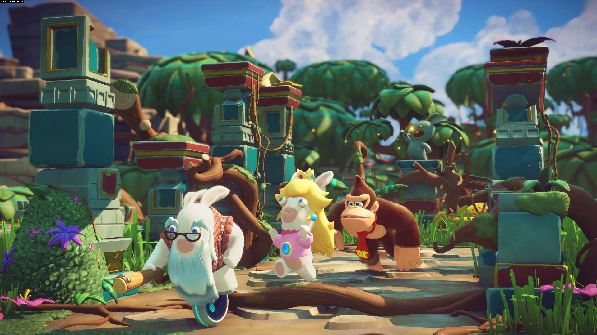 Mario + Rabbids: Kingdom Battle Switch Gry Screen 4/49, Ubisoft