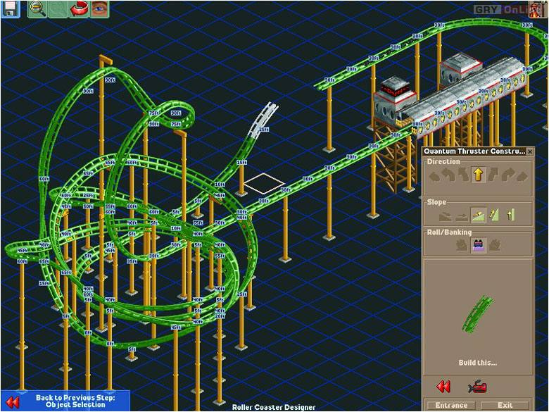 RollerCoaster Tycoon II PC Gry Screen 6/10, Frontier Developments/Chris Sawyer, Atari / Infogrames