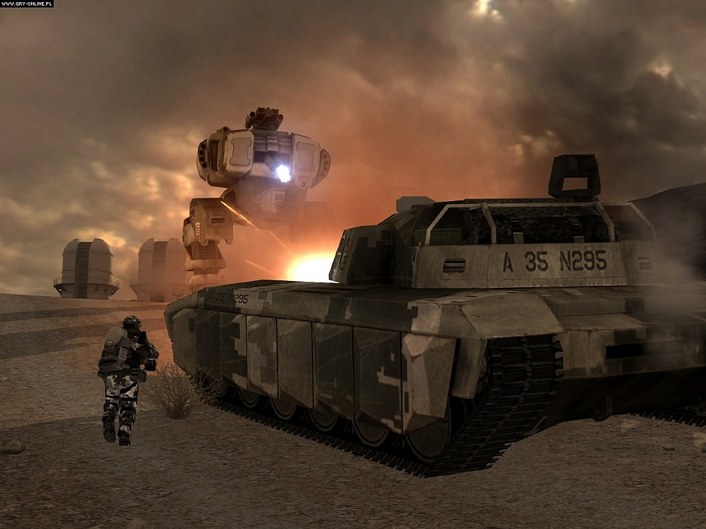 Battlefield 2142 PC Gry Screen 8/44, EA DICE / Digital Illusions CE, Electronic Arts Inc.