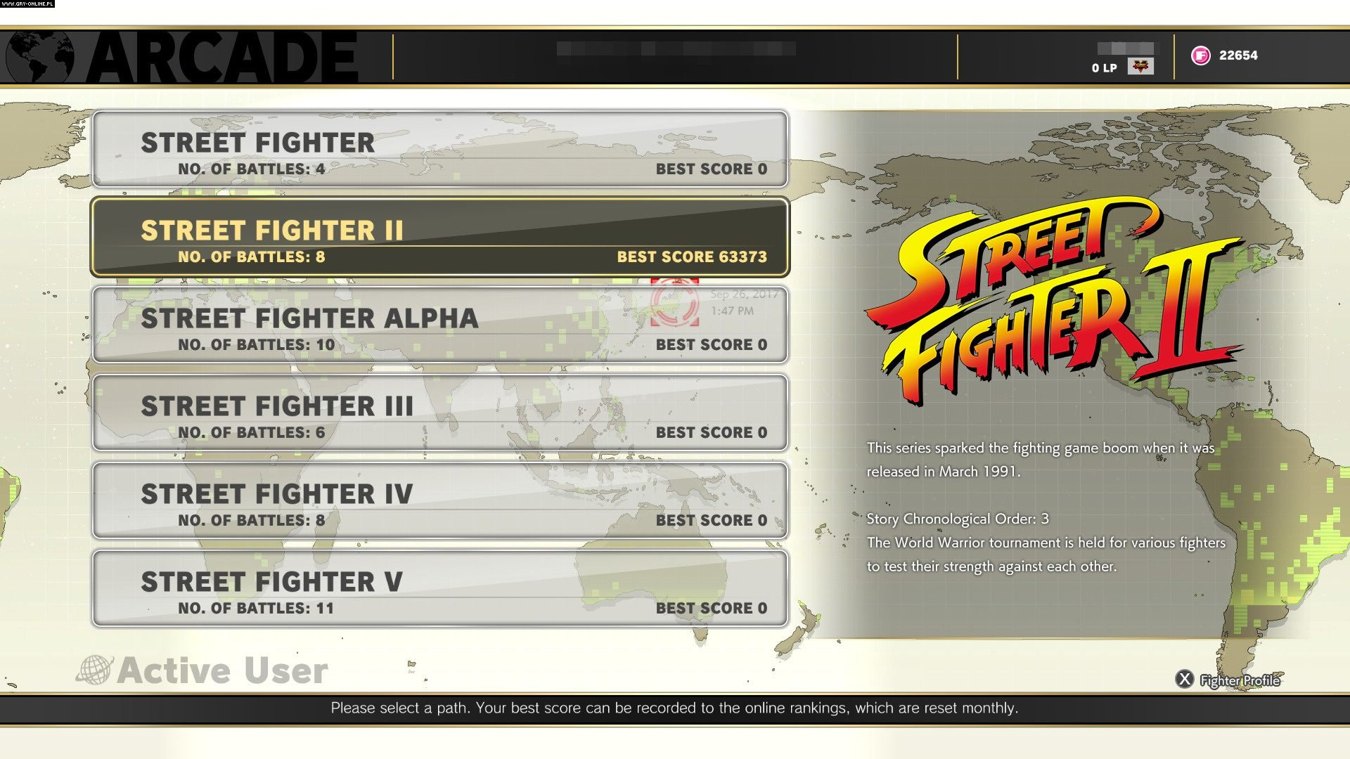 Street Fighter V: Arcade Edition PC, PS4 Gry Screen 77/107, Capcom