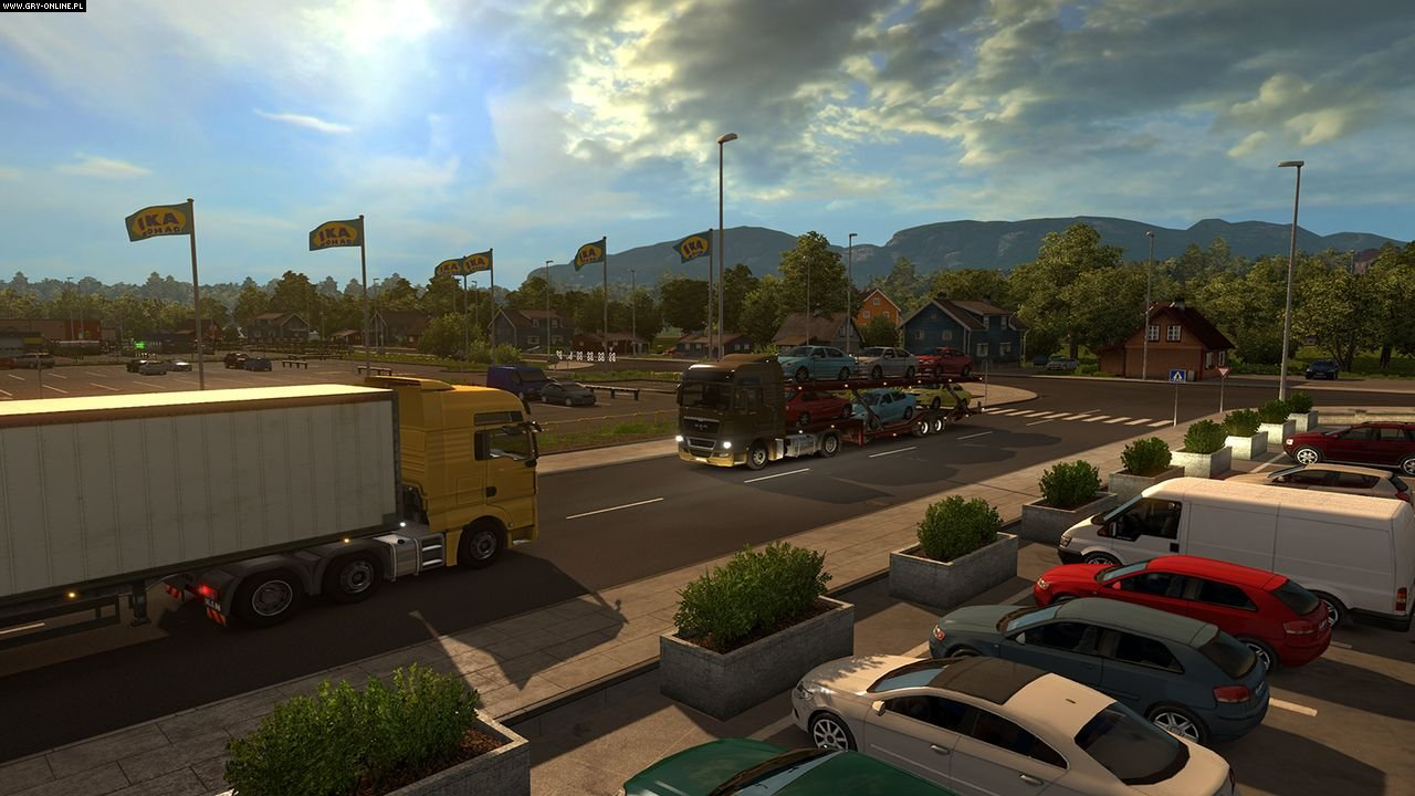 Euro Truck Simulator 2: Skandynawia PC Gry Screen 8/23, SCS Software, Rondomedia