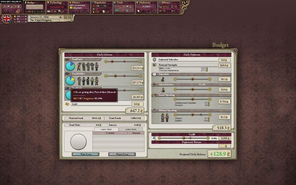 Victoria II - screenshots gallery - screenshot 9/13 ... Multiplayer Games