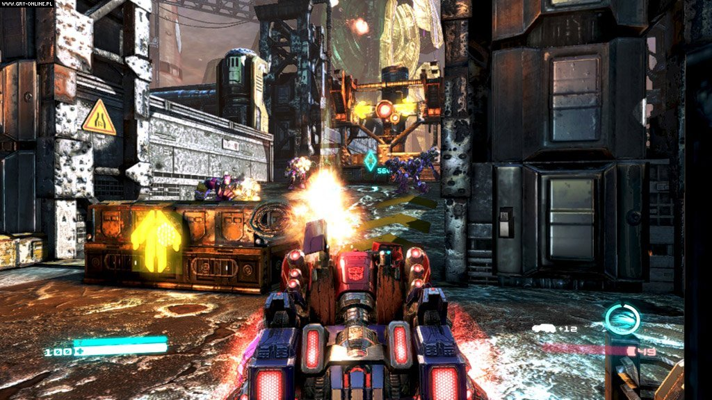 Transformers: Upadek Cybertronu PC, X360, PS3 Gry Screen 40/136, High Moon Studios, Activision Blizzard