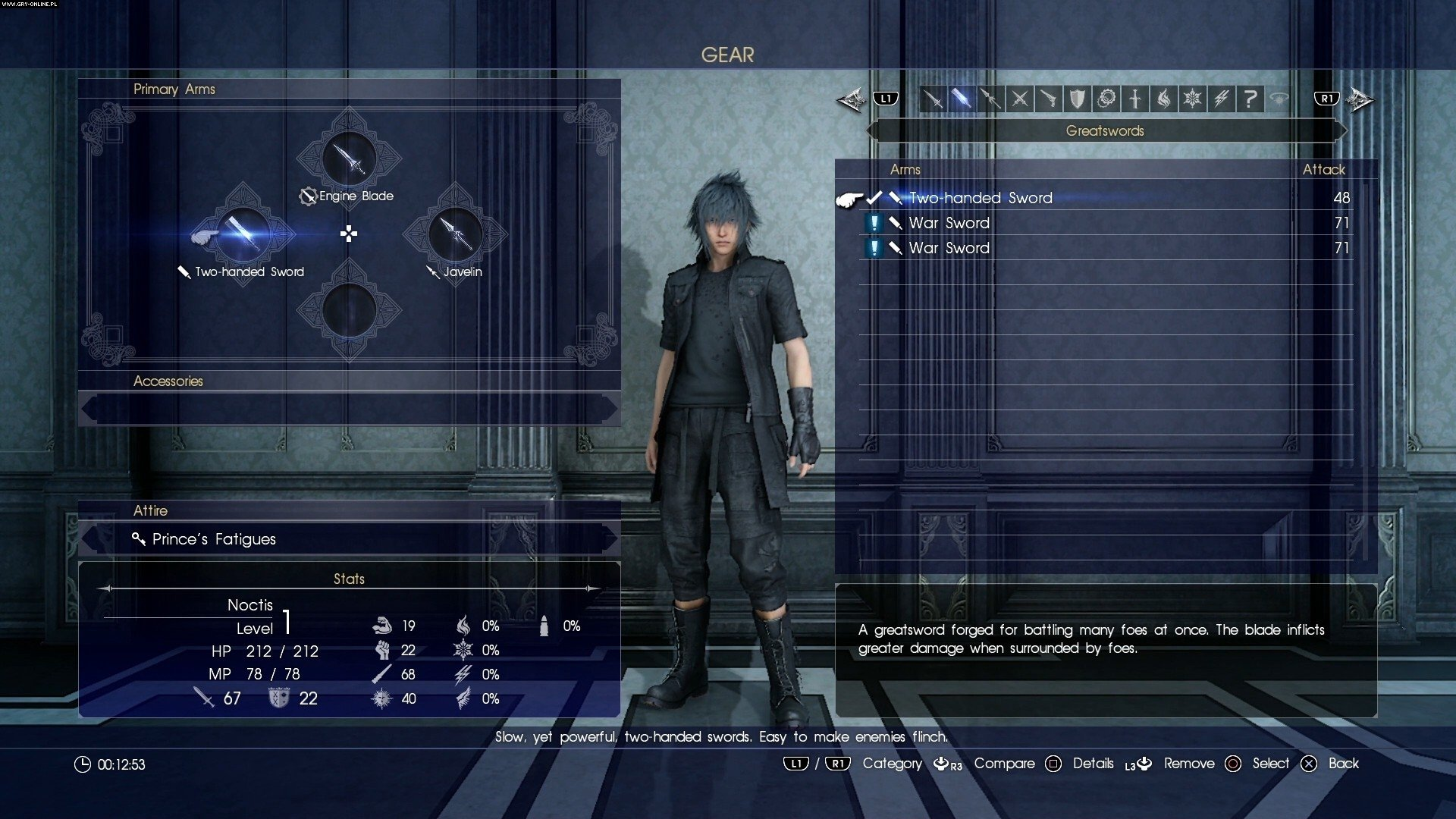 Final Fantasy XV PS4, XONE Gry Screen 280/393, Square-Enix / Eidos