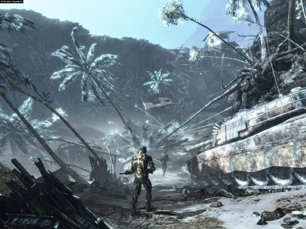 Crysis PC Gry Screen 20/60, Crytek, Electronic Arts Inc.